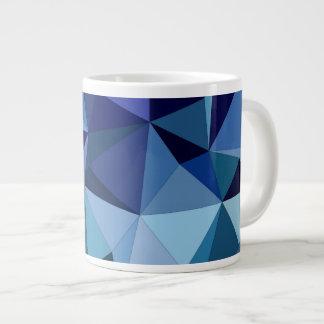 青い三角形 ジャンボコーヒーマグカップ