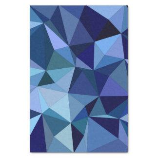 青い三角形 薄葉紙
