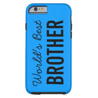青い世界で最も最高のな兄弟のカスタムなiPhone 6の場合 ケース