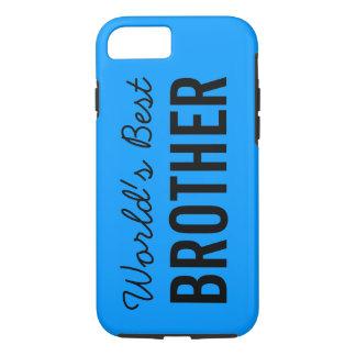 青い世界で最も最高のな兄弟のカスタムなiPhone 7の場合 iPhone 8/7ケース