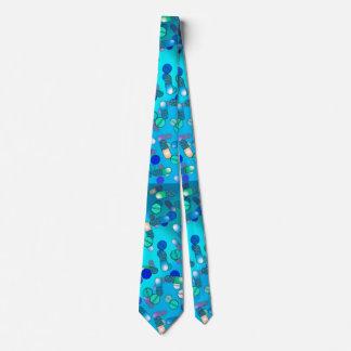青い丸薬 ネクタイ