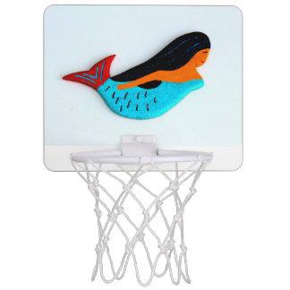 青い人魚の小型バスケットボールたが ミニバスケットボールゴール