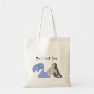 青い人魚 トートバッグ