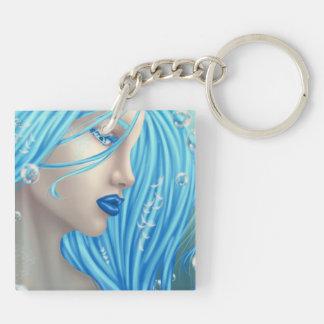 青い人魚Keychain キーホルダー