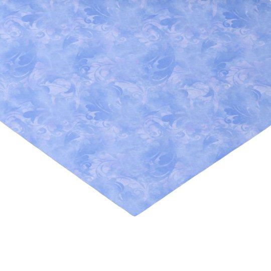青い優雅の水の微妙な冬の紺碧のサファイア 薄葉紙