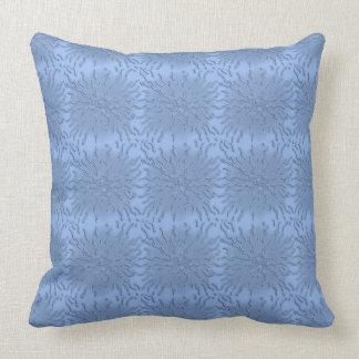 青い光線の枕 クッション