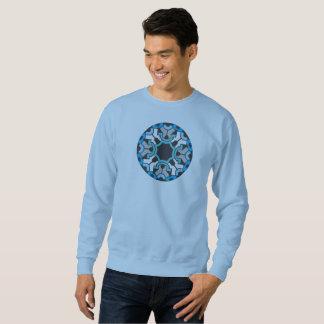 青い円 スウェットシャツ