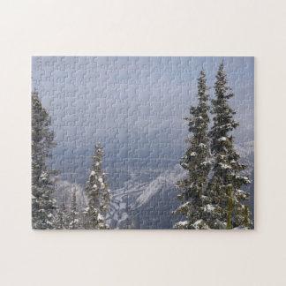 青い冬の空 ジグソーパズル