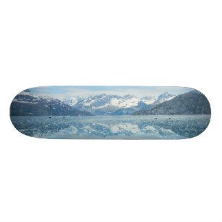 青い反射のスケートボード 20.6CM スケートボードデッキ