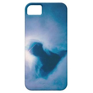 青い反射星雲の箱 iPhone SE/5/5s ケース