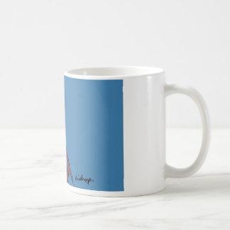 青い司教 コーヒーマグカップ