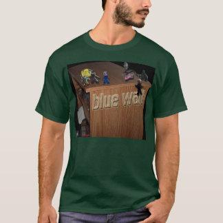 青い壁のdvdはある何が2つを粘土に、取ります tシャツ