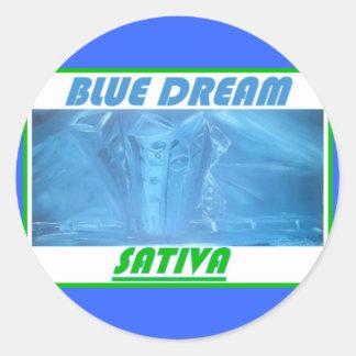 青い夢のSATIVA ラウンドシール