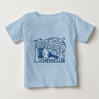 青い大理石のワイシャツ ベビーTシャツ