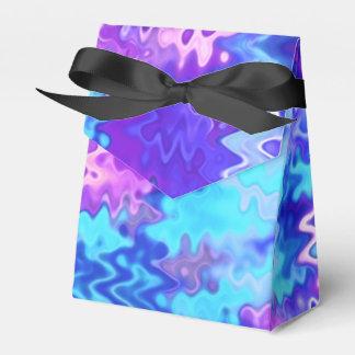 青い大理石の抽象芸術 フェイバーボックス