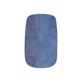 青い大理石の結婚式 ネイルアート