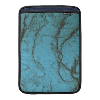 青い大理石のmacbookカバー MacBook スリーブ