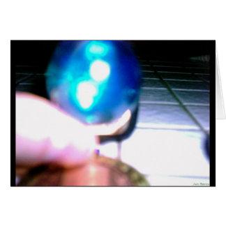 青い大理石 カード