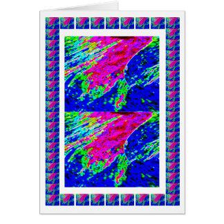 青い天国の波- Goodluckの東洋の招待状 カード