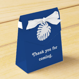 青い好意箱の熱帯ハイビスカス フェイバーボックス