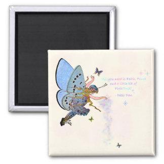青い妖精の塵の磁石 マグネット