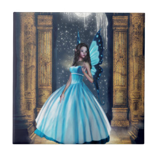 青い妖精 タイル
