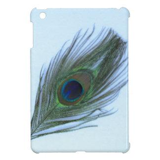青い孔雀の羽のiPad Miniケース iPad Miniカバー