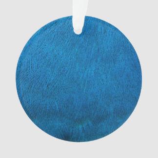 青い孔雀の羽 オーナメント