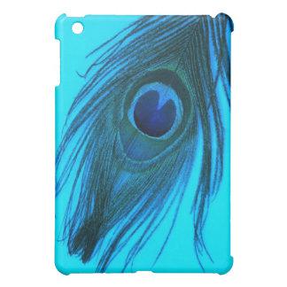 青い孔雀の羽 iPad MINI CASE