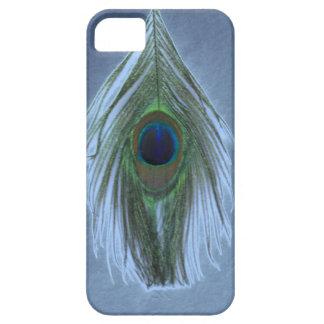 青い孔雀の羽D iPhone SE/5/5s ケース