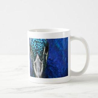 青い孔雀 コーヒーマグカップ