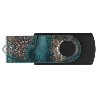 青い孔雀 USBフラッシュドライブ