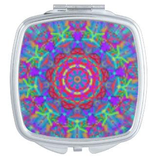 青い宇宙曼荼羅のポケット鏡