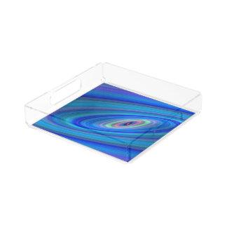 青い宇宙 アクリルトレー