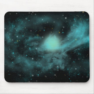 青い宇宙 マウスパッド