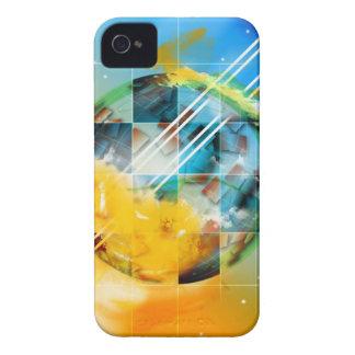 青い宇宙 Case-Mate iPhone 4 ケース