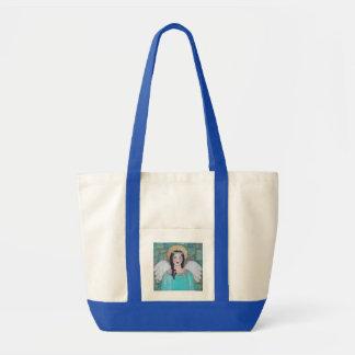 青い守り神の天使のトートバック トートバッグ