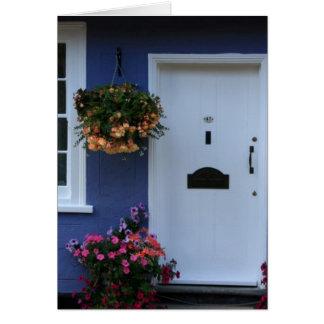 青い家、サフランWalden、Essex、イギリス カード