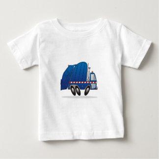 青い屑のトラック ベビーTシャツ