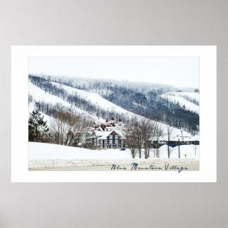 青い山村、オンタリオからのポスター ポスター