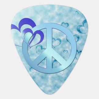青い平和 ギターピック