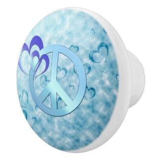 青い平和 セラミックノブ