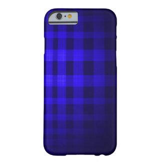 青い幽霊のタータンチェックパターン BARELY THERE iPhone 6 ケース