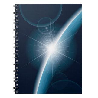 青い惑星のファンタジーのノート ノートブック