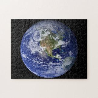 青い惑星の地球 ジグソーパズル
