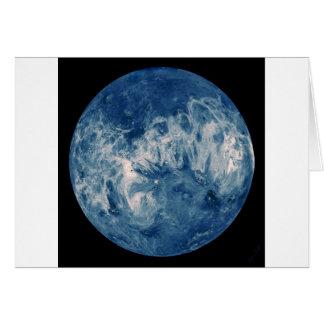 青い惑星-ブルームーン カード