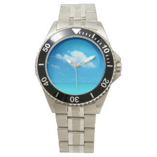 青い惑星 腕時計
