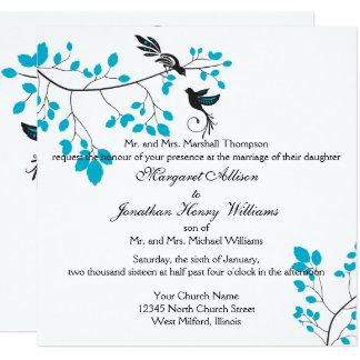 青い愛鳥 カード