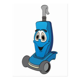 青い掃除機 ポストカード