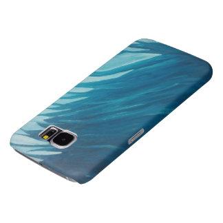 青い携帯電話の箱 SAMSUNG GALAXY S6 ケース